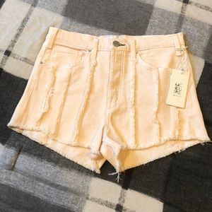 💋 McGuire Denim Georgia May Denim Cut Shorts Pink